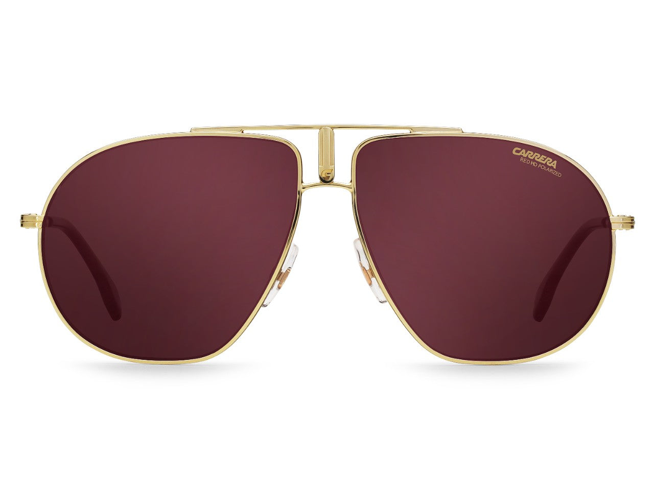 4444637013 Carrera - Bound Gold Sunglasses   Burgundy Polarized Lenses – New ...