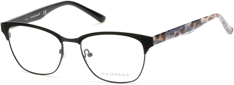 Rampage - RA0206 Matte Black Eyeglasses / Demo Lenses
