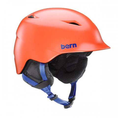 Bern - Camino Satin Orange Snow Helmet