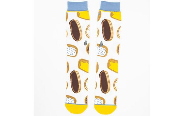 Woven Pear - Carbo Load Socks
