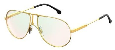Carrera - 1109 Yellow Gold Eyeglasses / Demo Lenses