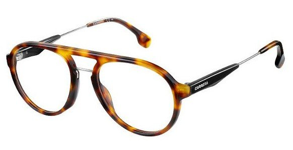 Carrera - 137 V Light Havana Eyeglasses / Demo Lenses