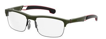 Carrera - 4403 V Matte Green Military Eyeglasses / Demo Lenses