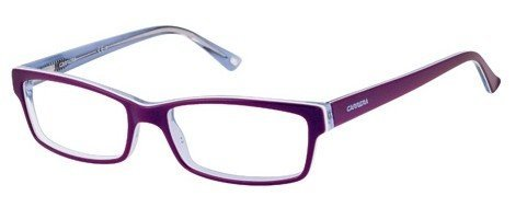 Carrera - Ca 6171 52mm Dark Light Violet Eyeglasses / Demo Lenses