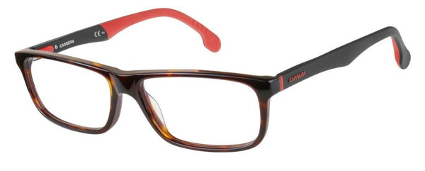 Carrera - 8826 V Havana Eyeglasses / Demo Lenses