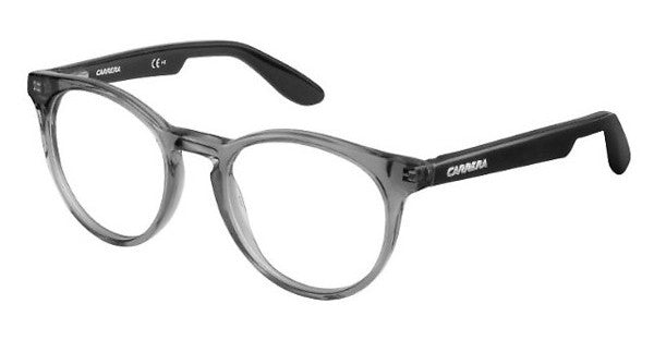 Carrera - Carrerino 58 Transparent Gray Black Eyeglasses / Demo Lenses