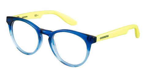 Carrera - Carrerino 58 Blue Yellow Fluorescent Eyeglasses / Demo Lenses