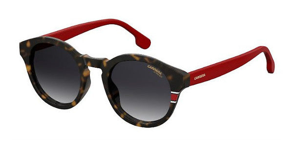 Carrera - 165 S Havana Red Sunglasses / Dark Gray Gradient Lenses