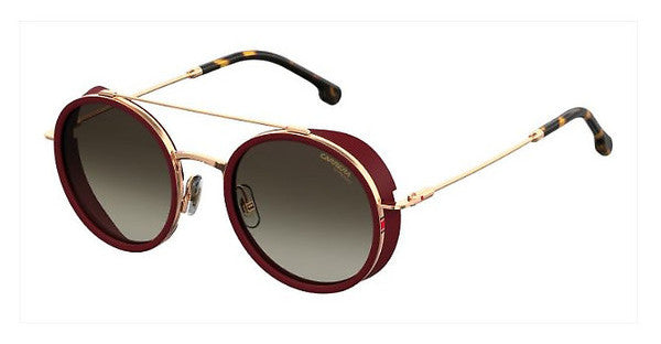 Carrera - 167 S Gold Copper  Sunglasses / Brown Gradient Lenses