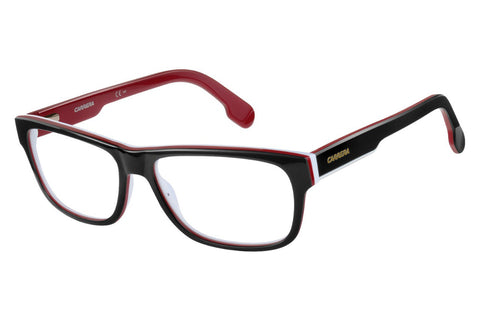Carrera - 1102/V Striped Black White Rx Glasses