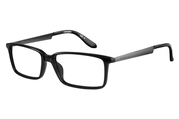 Carrera - 5514 Black Semi Matte Dark Ruthenium Rx Glasses