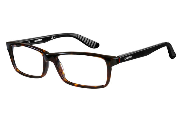 Carrera - 8800 Dark Havana / Black Rx Glasses