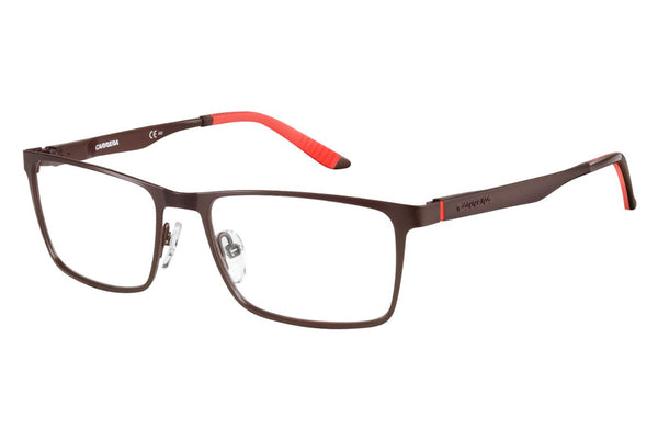 Carrera - 8811 Semi Matte Brown Rx Glasses