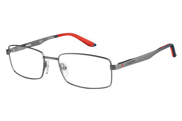 Carrera - 8812 Semi Matte Dark Ruthenium Rx Glasses