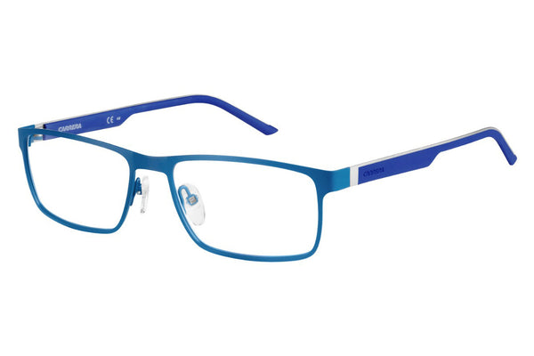 Carrera - 8815 Matte Petroleum Blue Rx Glasses
