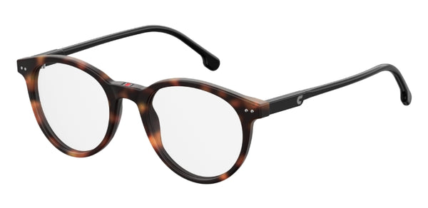 Carrera - 2008T 48mm Light Havana Eyeglasses / Demo Lenses