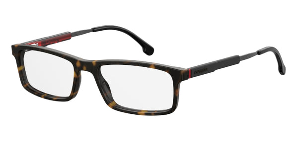 Carrera - 8837 53mm Dark Havana Eyeglasses / Demo Lenses