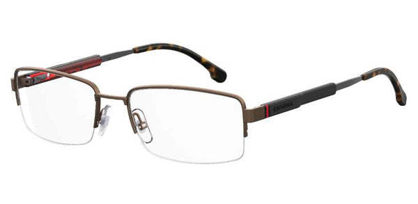 Carrera - 8836 56mm Matte Bronze Eyeglasses / Demo Lenses