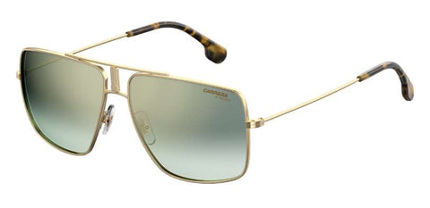 Carrera - 1006 S Gold Havana Sunglasses / Green Silver Mirror Lenses