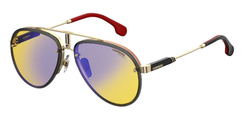 Carrera - Glory Gold Yellow Sunglasses / Yellow Lenses