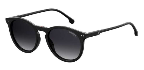 Carrera - 2006T S Black Sunglasses / Dark Gray Gradient Lenses