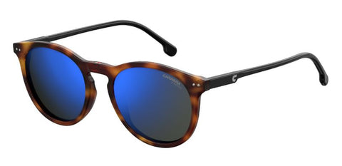 Carrera - 2006T S Light Havana  Sunglasses / Blue Sky Mirror Lenses