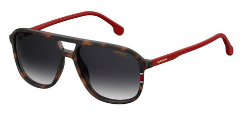Carrera - 173 S Havana Red Sunglasses / Dark Blue Gradient Lenses