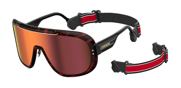 Carrera - Epica Red Havana Sunglasses / Red Lenses