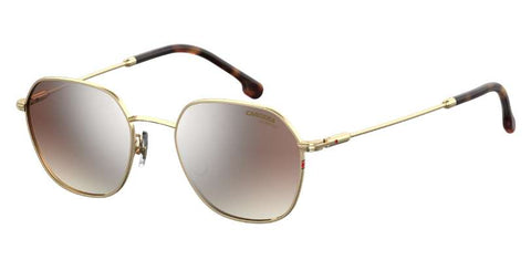 Carrera - 180 F S Gold Havana Sunglasses / Brown Mirror Gradient Lenses