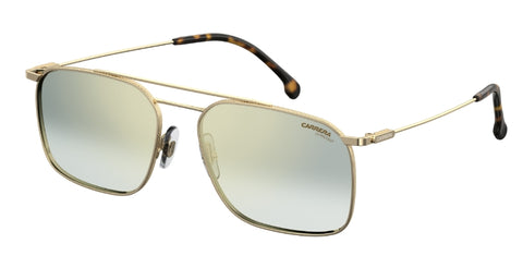 Carrera - 186 S Gold Havana Sunglasses / Green Silver Mirror Lenses