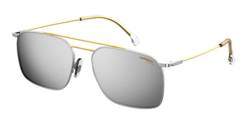 Carrera - 186 S Palladium Gold  Sunglasses / Silver Mirror Lenses