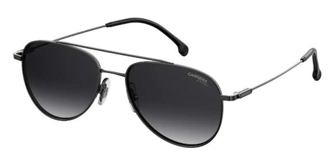 Carrera - 187 S Dark Ruthenium Black Sunglasses / Dark Gray Gradient Lenses