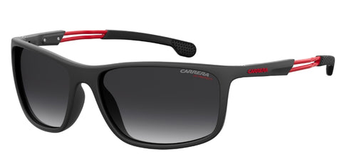 Carrera - 4013 S Matte Black Sunglasses / Dark Gray Gradient Lenses