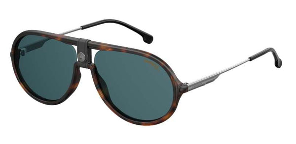 Carrera - 1020 S Dark Havana Sunglasses / Blue Avio Lenses