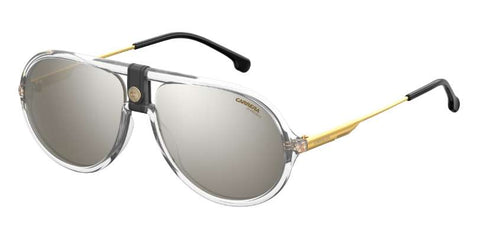 Carrera - 1020 S Crystal Sunglasses / Silver Mirror Lenses