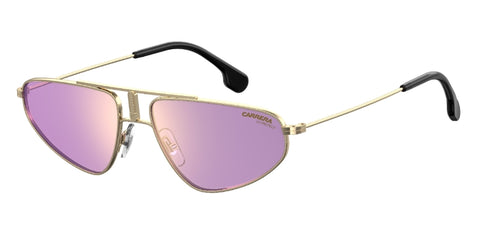 Carrera - 1021 S Gold Violet Sunglasses / Violet Mirror Lenses