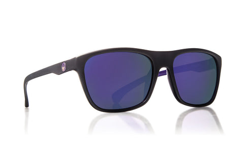 Dragon - Carry On Matte Black Purple / Purple Ion Sunglasses
