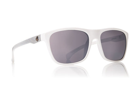 Dragon Carry On White Stripe / Silver Ion Sunglasses