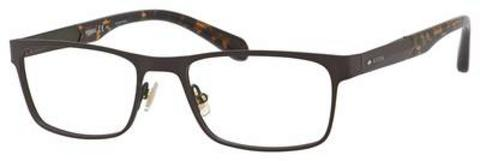 Fossil - Fos 7028 53mm Matte Brown Eyeglasses / Demo Lenses