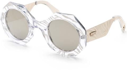 Roberto Cavalli - RC1113 Crystal Sunglasses / Smoke Mirror Lenses