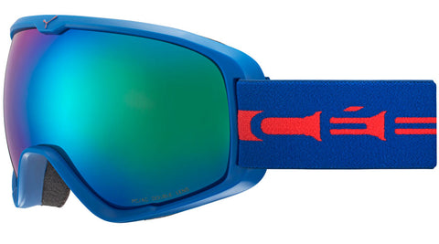 Cebe - Artic L Matte Blue Red Snow Goggles / Brown Flash Blue Lenses