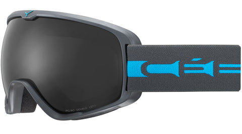Cebe - Artic L Matte Grey Blue Snow Goggles / Grey Lenses