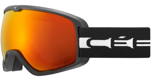 Cebe - Artic L Matte Black White Snow Goggles / Orange Flash Fire Lenses