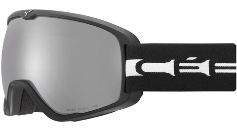 Cebe - Artic L Matte Black White Snow Goggles / Amber Flash Mirror Lenses