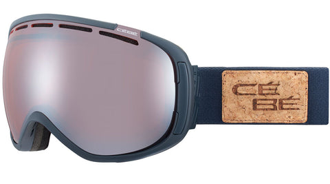 Cebe - Feel'in Full Matte Grey Snow Goggles / Orange Flash Mirror Lenses