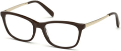 Emilio Pucci - EP5068 Shiny Dark Brown Eyeglasses / Demo Lenses