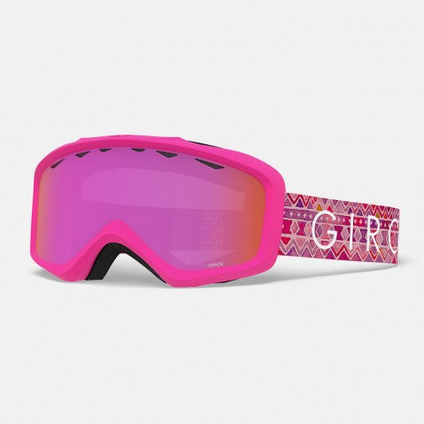 Giro - Grade Pink Tile Snow Goggles / Amber Pink Lenses