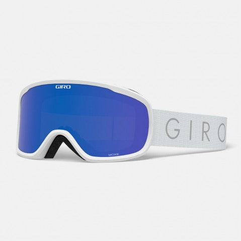Giro - Moxie White Core Light Snow Goggles / Grey Cobalt + Yellow Lenses