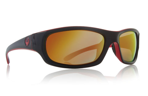 Dragon - Chrome 2 Jet / Red Ion Sunglasses