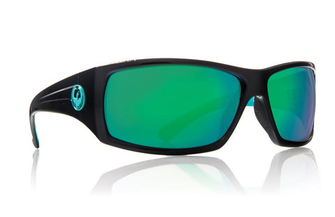 Dragon - Cinch Jet Teal / Green Ion Sunglasses